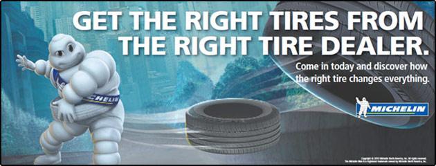 Michelin The Right Tire