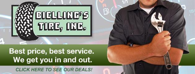 Biellings Tire Inc Savings