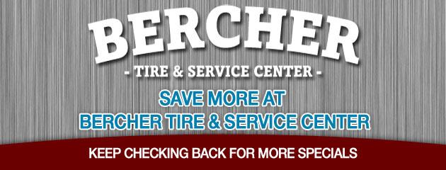 Bercher Tire & Service_Coupon Specials