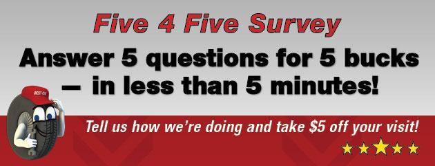 Five 4 Five