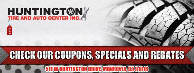 Huntington Tire and Auto Center Inc Savings