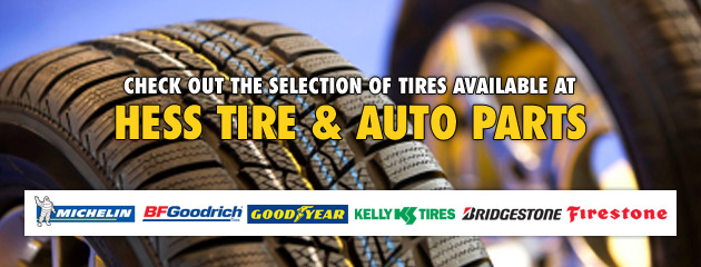 Hess Tire & Auto Parts - Tires
