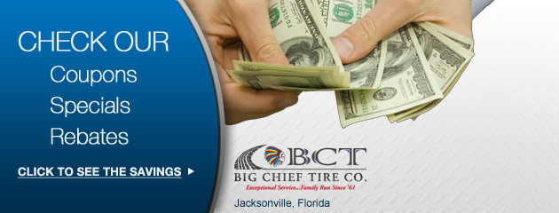 Big Chieft Tire Co Savings
