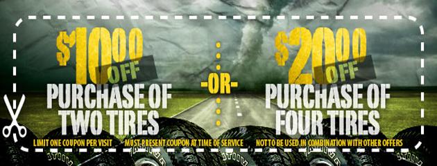 Albuquerque Tire Inc. - Tire Purchase Special