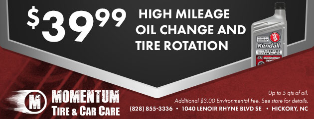 High Mileage Oil Change Coupon